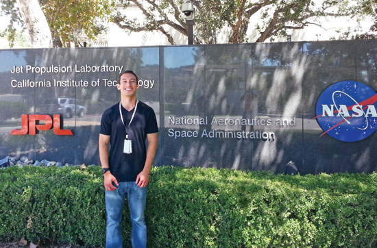 photo: jeremy caplan at the NASA JPL facility