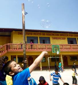 Recess in Guatemala