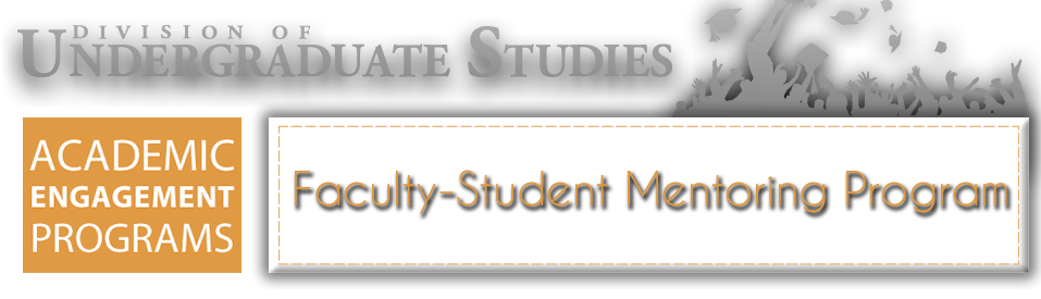 Faculty-Student Mentoring Program