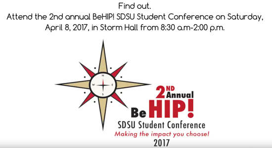 BeHip Second Annual SDSU Student Conference
