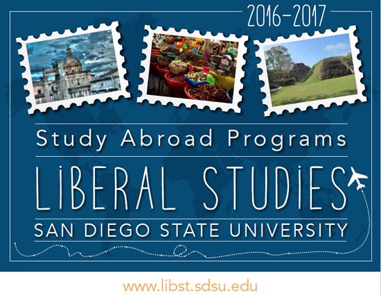 Liberal Studies Study Abroad Viewbook
