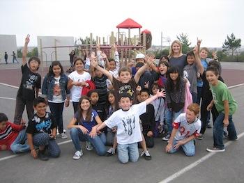 photo of Nicolette's class