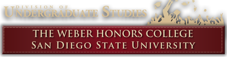 University Honors College Header