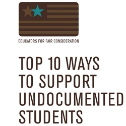 10 ways to support undocumented students