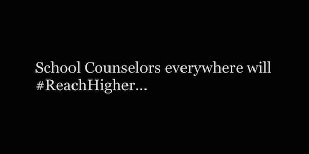 School Counselors Reach Higher