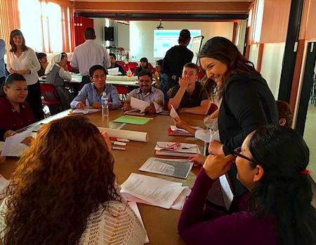 Photo: Cinthya at Girasol workshop