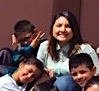 Photo: Cinthya and kids