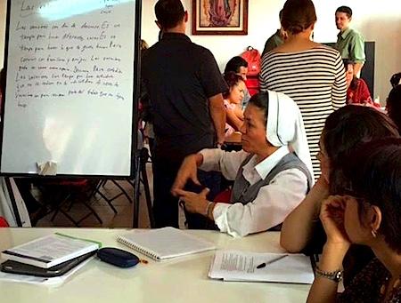 Photo: Directora de Primaria Sor Mari Cruz