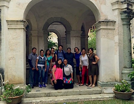 Photo: Summer immersion group poses in Venigúzala