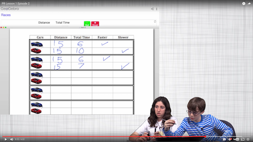 Math Talk Video Snapshot 2