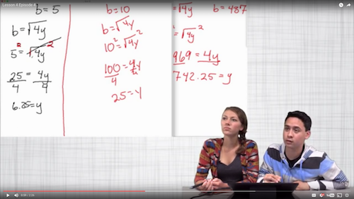 Math Talk Video Snapshot 3