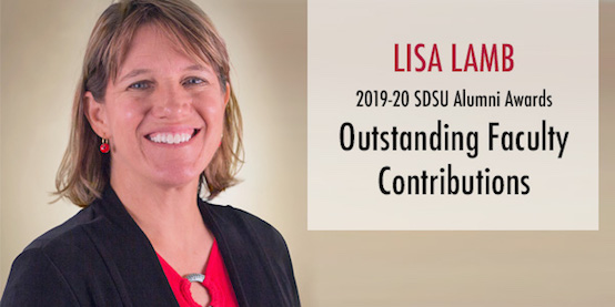 Lisa Lamb 2019 Recipient of Alumni Award