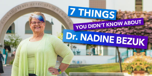 Seven Things about Nadine Bezuk