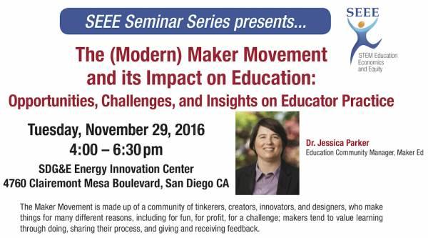 SEEE Seminar Fall 2016 flyer header