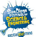 San Diego Festival of Science and Engineering logo