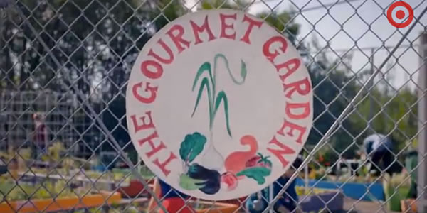 The Gourmet Garden sign