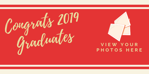 Congrats grad photo announcement