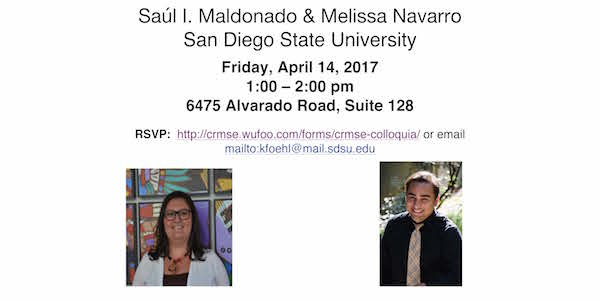 Flyer of Melissa and Saul CRMSE