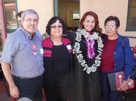 Alberto Ochoa, Rafaela Santa Cruz, Mariana Gomez & Hermalinda