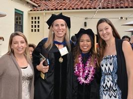 Dr. Casesa, Christine Keaney,  Annie Nguyen & Elizabeth Rozich
