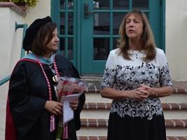 Cecilia Fragoso & Dr. Hall