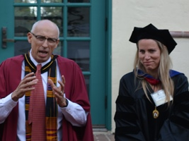 Dr. Monk & Christine Keaney