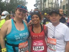 Melissa Navarro, Nicole Belisle,  and Soua Xiong