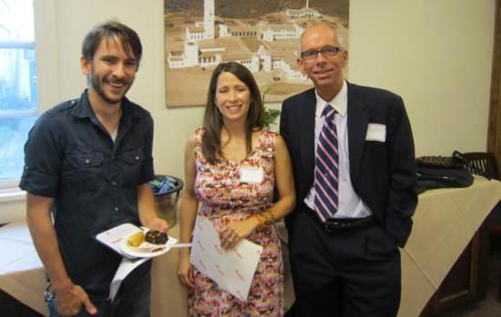 Brett Pepin, Amber Alatorre and Dean Thomas