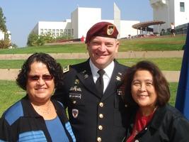 Dr. Rafaela Santa Cruz,  Tom De La Garza & Dr. Valeria Pang