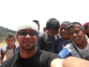 SDSU Student in Guatemala