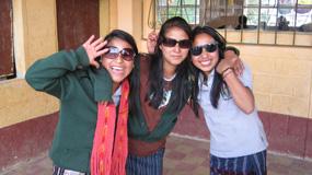 cool girls in sunglasses
