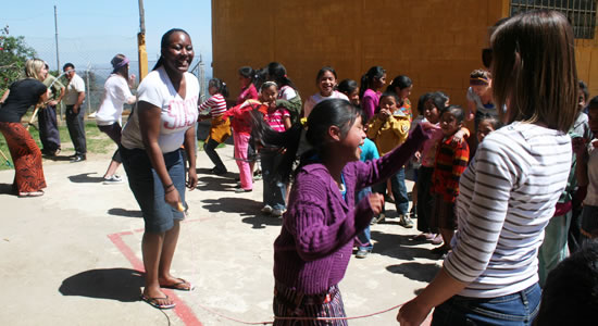 Recess at Patalup Primary School