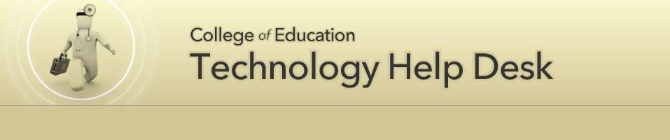 SDSU College Of Education   Technolog Help Desk