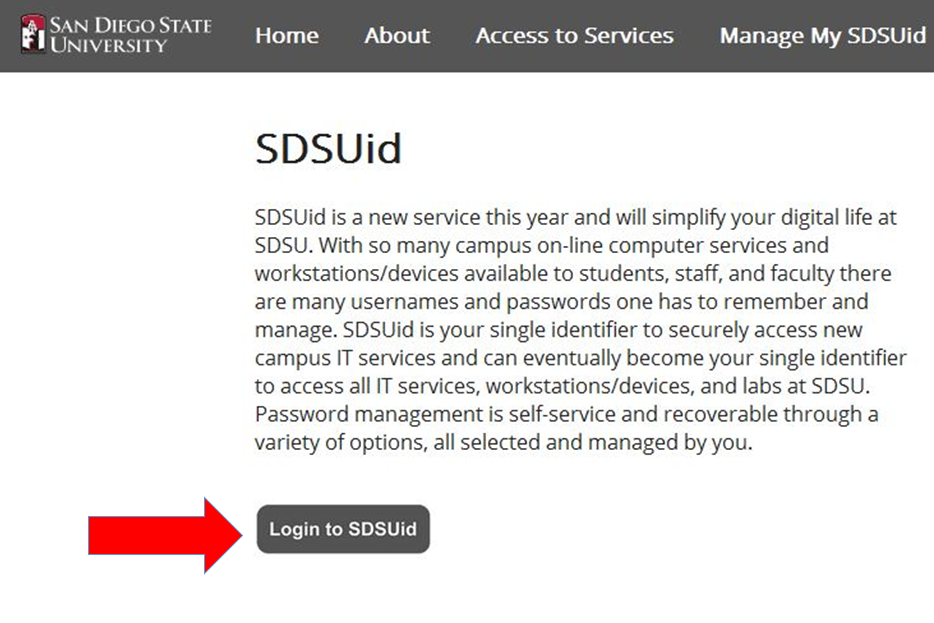 Change SDSUid password Final
