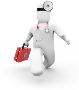 Help desk doctor cartoon