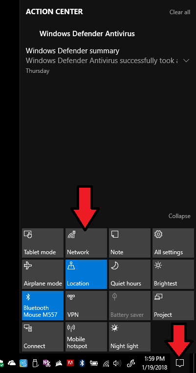 forget a network on windows 10