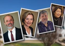 Drs. Ronald Evans, Nancy Farnan, Jesus Nieto, Valerie Pang