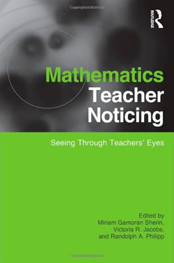 Mathematics Teacher Noticing - Book Cover