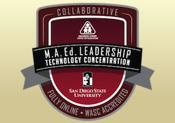 MA in Technology Leadership Logo