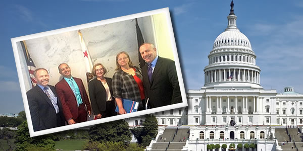 Linked learning delegation in Washington d.c.
