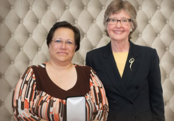 Patricia Lozada-Santone and Nancy Marlin