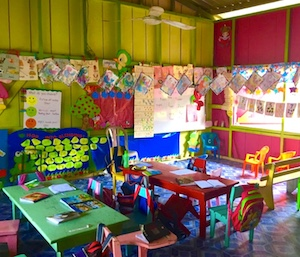 Photo: elementary school classroom