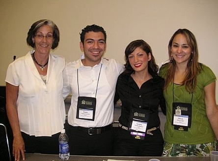 Photo: Ann Pierce, Ruben Sanchez, Cynthia Borboa, Diana Tiger