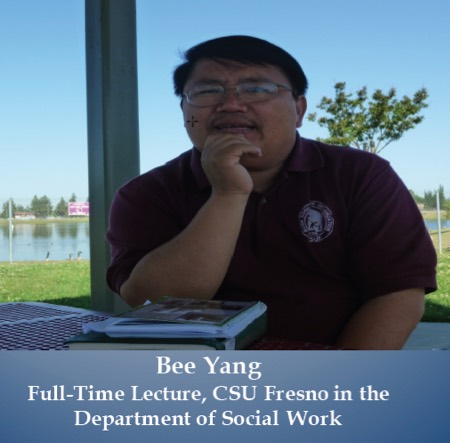 Photo: Bee Yang, full time lecturer CSU Fresno in the Department of Social Work