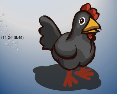 Image: drawing of chicken (14:24-18:45)