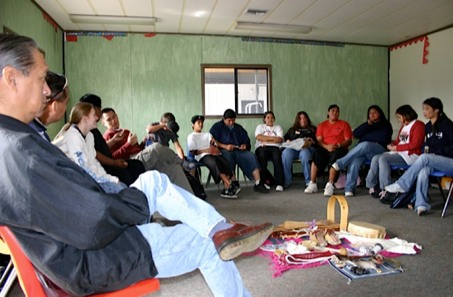 Photo: classroom circle