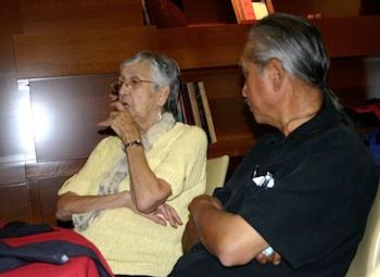 Photo: Elder with Larry