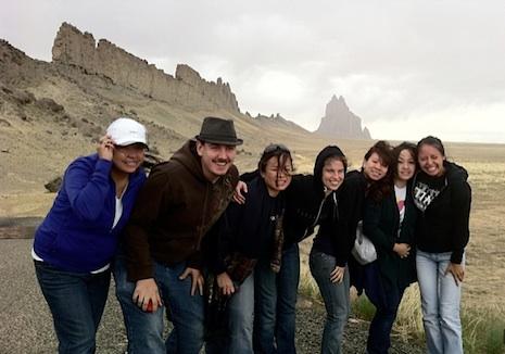Photo: Chelsay Jimmie, Felipe Zanartu, Roberta Cruz, Mallory Rachel, Kieu Tang, Boa Xiong, Alyssa Ashley