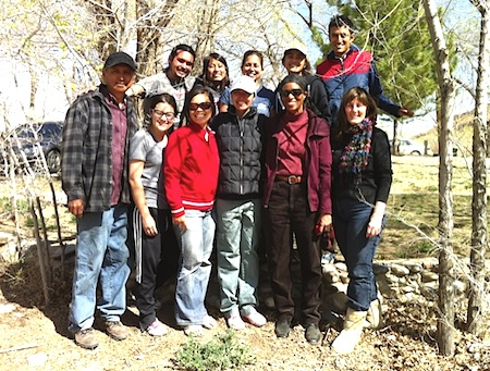Photo: Shiprock immersion group