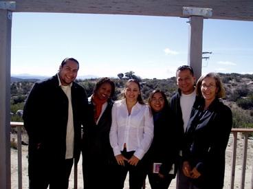Photo: group shot of graduate students